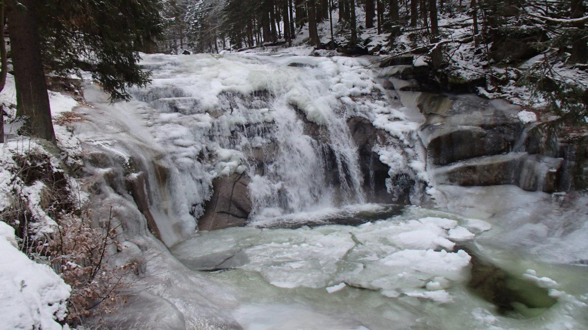 Mumlavský vodopád 26.1.2020